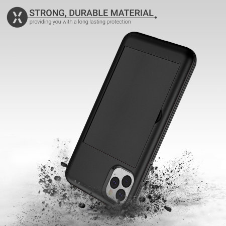 Olixar Armour Vault iPhone 11 Pro Tough Wallet Case - Black