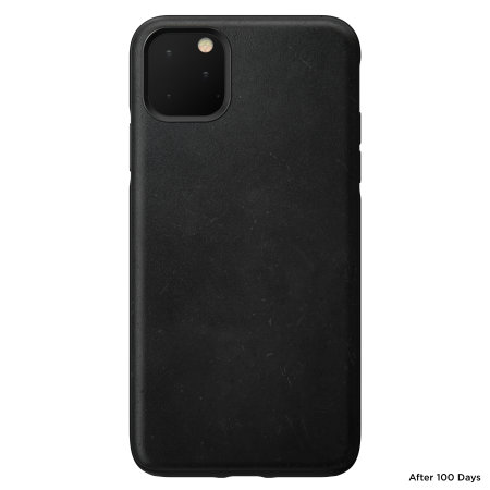Nomad iPhone 11 Pro Rugged Horween Leather Case - Black