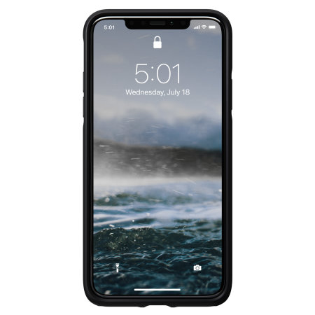 Nomad iPhone 11 Rugged Horween Leather Case - Black