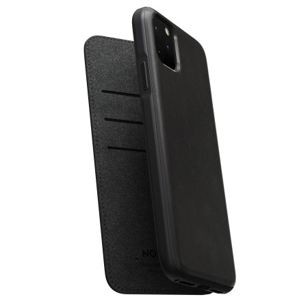 Nomad iPhone 11 Pro Max Rugged Folio Horween Leather Case - Black