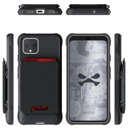 Ghostek Exec 4 Google Pixel 4 Wallet Case - Black