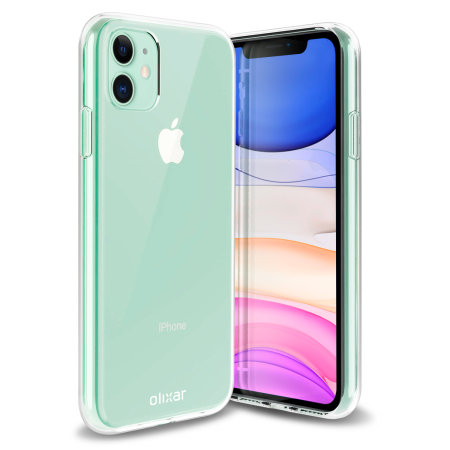 Olixar Essential iPhone 11 Case, Screen Protector & Cable Pack