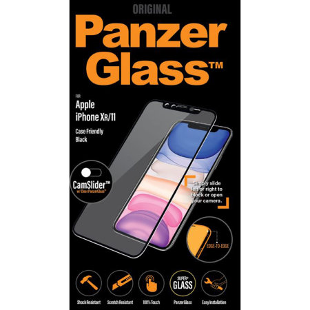 PanzerGlass iPhone 11 Glass Screen Protector - Black