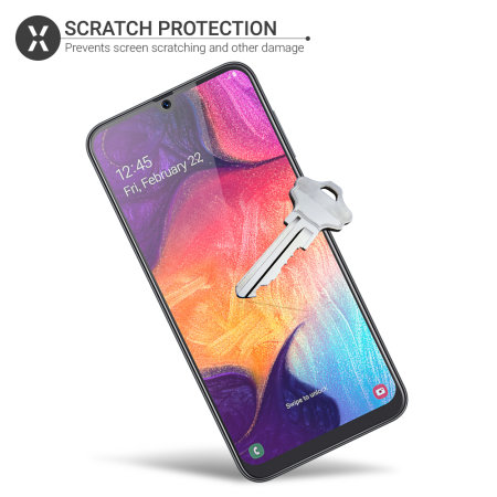 Olixar Samsung Galaxy A30s Film Screen Protector 2-in-1 Pack