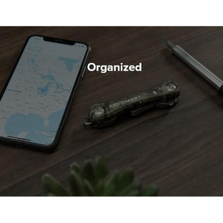 KeySmart Compact Pro 10 Key Tile Location Key Holder - Mossy Oak