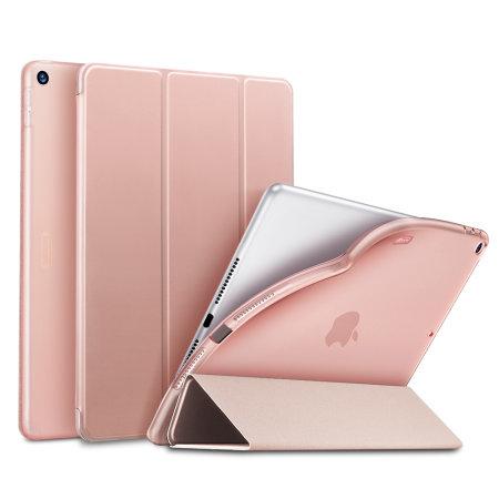 Sdesign Soft Silicone iPad 10.2 2019 Case - Rose Gold