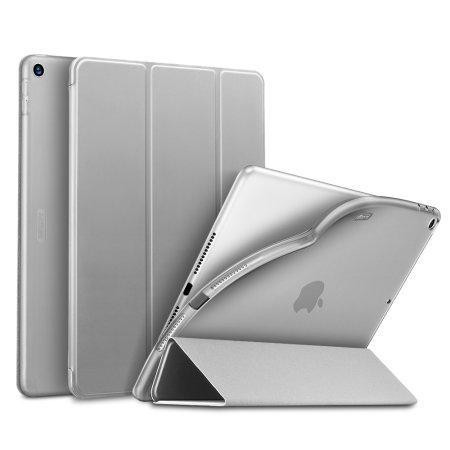 """Sdesign iPad 10.2"""" Soft Silicone Case - Silver"""