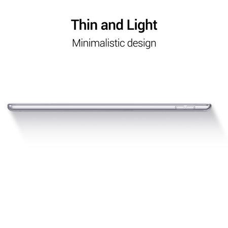 Sdesign Transparent iPad 10.2 2019 Cover Case - Clear