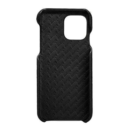 Vaja Grip iPhone 11 Pro Premium Leather Case - Black
