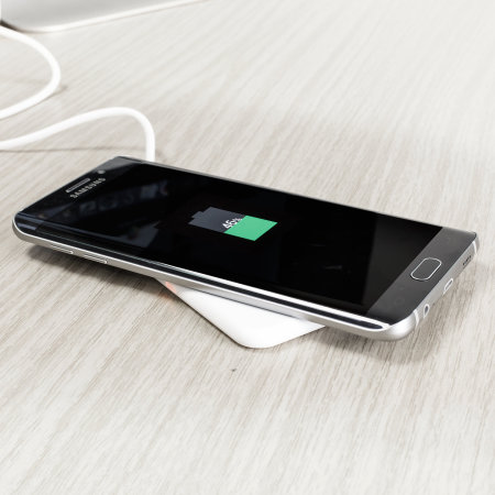 aircharge Slimline iPhone 11 Qi Wireless Charging Pad White