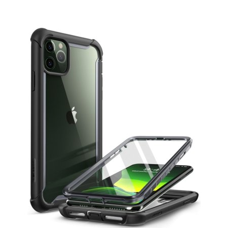 i-Blason Ares iPhone 11 Pro Bumper Case And Screen Protector - Black