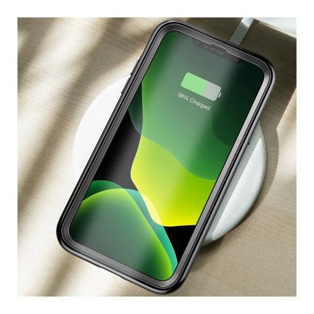 i-Blason Unicorn Beetle Electro iPhone 11 Pro Slim Clear Case - Black