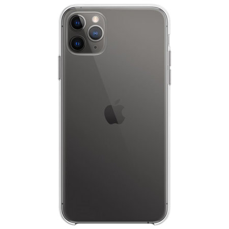 Official Apple iPhone 11 Pro Max Crystal Clear Case - Clear