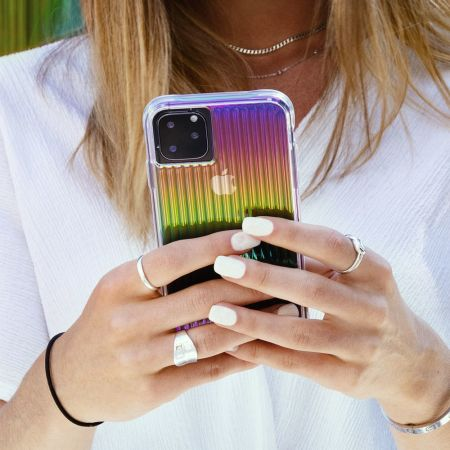 Case-Mate Tough Groove iPhone 11 Pro Case - Iridescent