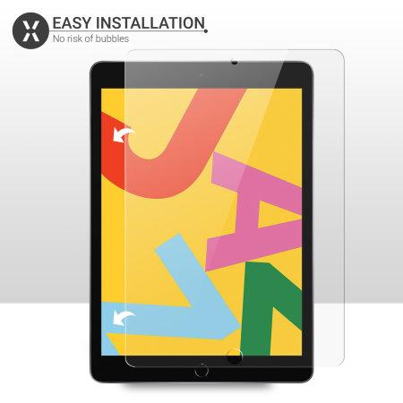 """Olixar iPad 10.2"""" 2019  Tempered Glass Screen Protector"""