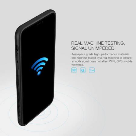 Nillkin Synthetic Fibre Series iPhone 11 Pro Tough Cover Case - Black