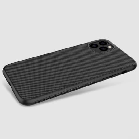 Nillkin Synthetic Fibre Series iPhone 11 Pro Max Tough Case - Black