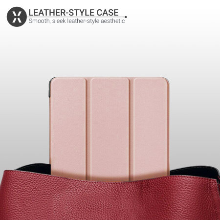 "Olixar iPad 10.2"" Folio Smart Case - Rose Gold"