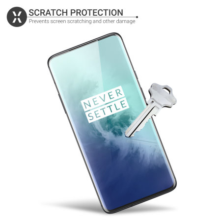 Olixar OnePlus 7T Pro Film Screen Protector 2-in-1 Pack