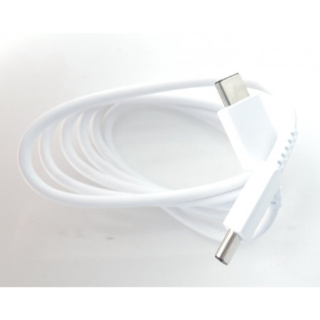 Cable USB-C Doble Oficial Samsung Galaxy S10 Plus - 1m - Blanco