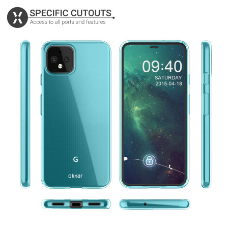 Olixar Flexishield Google Pixel 4 Case - Blue