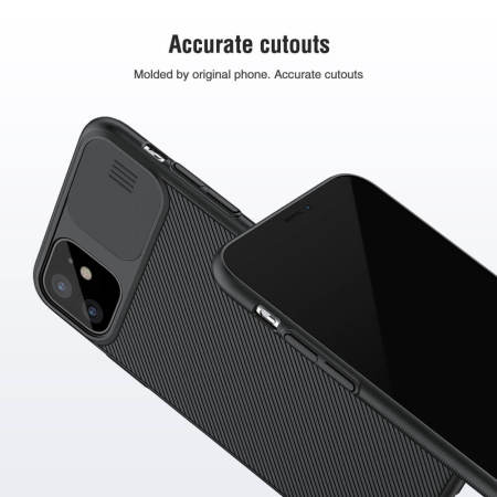 Nillkin CamShield Apple iPhone 11 Protective Case  - Black