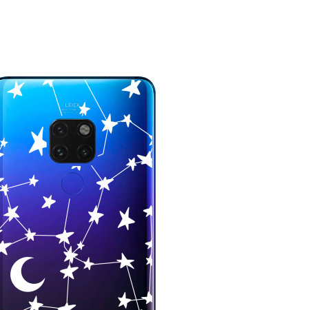 LoveCases Huawei Mate 20 Clear Starry Design Phone Case