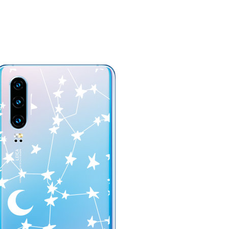LoveCases Huawei P30 Clear Starry Phone Case