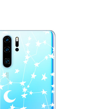 LoveCases Huawei P30 Pro Clear Starry Phone Case