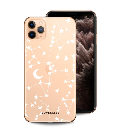LoveCases iPhone 11 Pro Clear Starry Phone Case