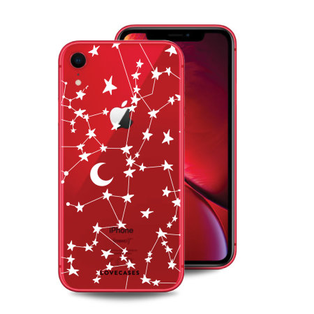 LoveCases iPhone XR Clear Starry Phone Case