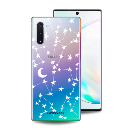 LoveCases Samsung Note 10 Starry Design Clear Phone Case
