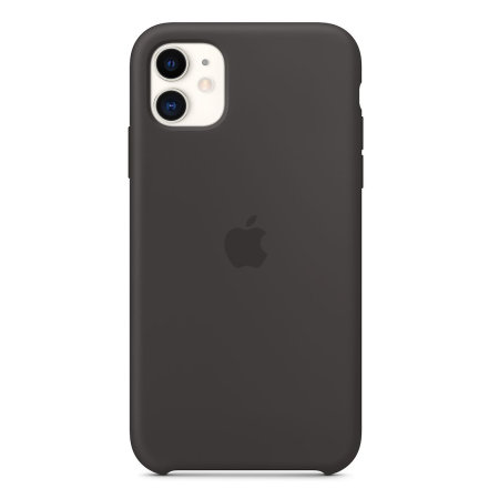 Official Apple iPhone 11 Silicone Case - Black