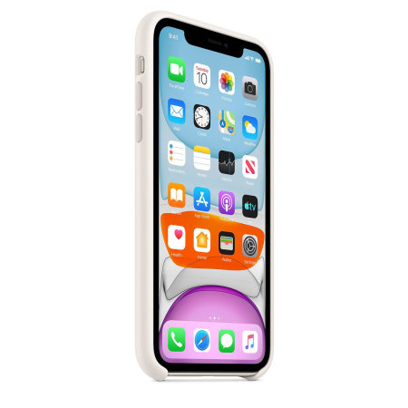 Funda Oficial Apple Silicone Case para iPhone 11 - Blanca