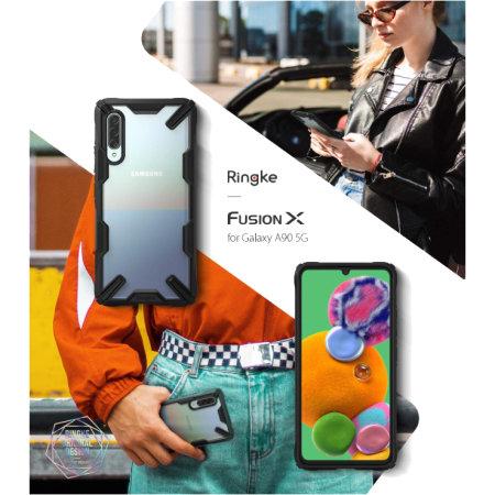 Ringke Fusion X Samsung Galaxy A90 5G Tough Case - Black