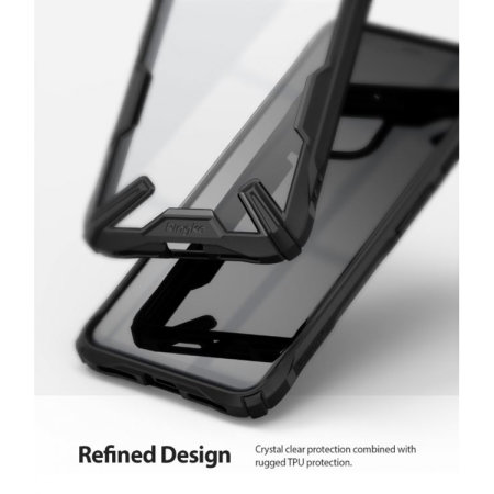 Ringke Fusion X Google Pixel 4 Tough Case - Black