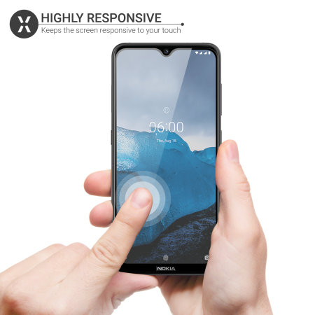 Olixar Nokia 7.2 Tempered Glass Screen Protector
