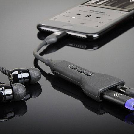 Scosche StrikeLine MFi iPhone XS Lightning to 3.5mm Audio Adapter