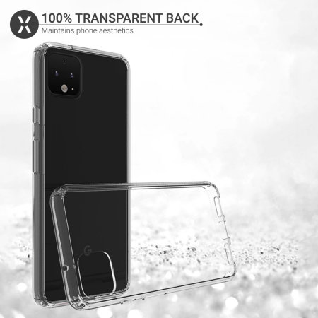 Olixar ExoShield Tough Snap-on Google Pixel 4 Case - Clear