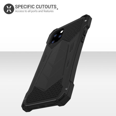 Olixar Titan Armour 360 iPhone 11 Pro Max Protective Case - Black