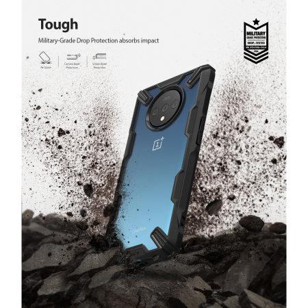 Ringke Fusion X OnePlus 7T Case - Black