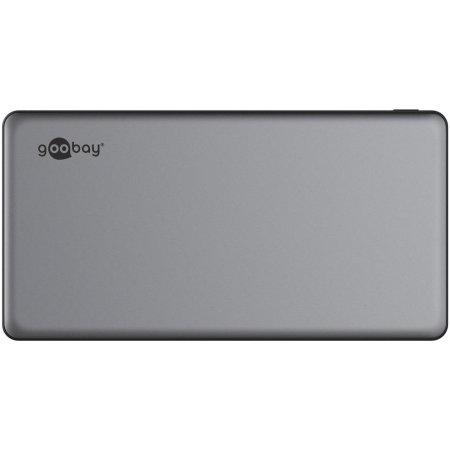 Goobay USB-C 15,000mAh iPhone 11 Pro Power Bank - Grey