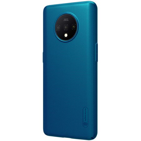 Nillkin Super Frosted OnePlus 7T Shield Case - Peacock Blue