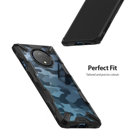 Ringke Fusion X OnePlus 7T Case - Camo Black