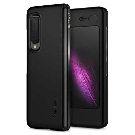 Spigen Thin Fit Samsung Galaxy Fold Shell Case - Matte Black