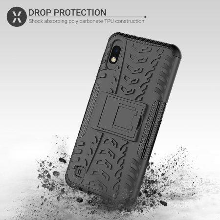 Olixar ArmourDillo Samsung Galaxy A10 Protective Case - Black
