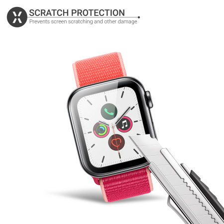 Olixar Apple Watch Series SE/ 6 / 5 / 4 Glass Screen Protector - 40mm