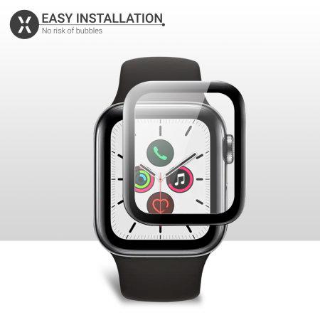 Olixar Apple Watch Series SE/ 6 / 5 / 4 Glass Screen Protector - 44mm