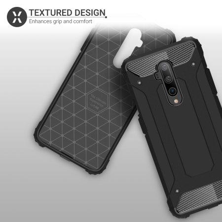Olixar Delta Armour Oneplus 7T Pro 5G McLaren Protective Case - Black
