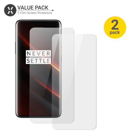 Olixar OnePlus 7T Pro 5G McLaren Edition Film Screen Protector -2 Pack